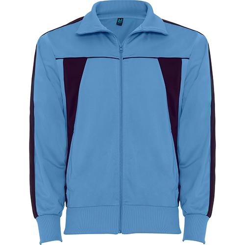 5e9832268fd2 OLIMPO Tuta sportiva bicolore di giacca e pantalone. 1.- Giacchetta con  manica retta